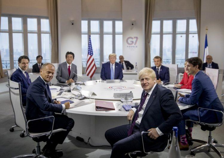 Líderes del G7 acuerdan apoyo para países afectados por incendios en la Amazonia