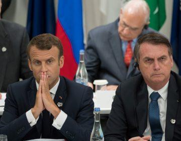La burla de Bolsonaro hacia la primera dama de Francia que indignó a Macron