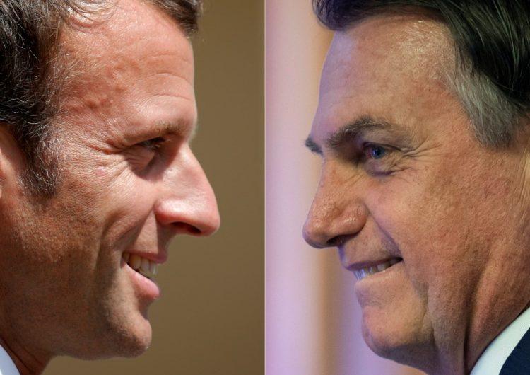 Bolsonaro elimina comentario contra la primera dama francesa e insiste en que Macron se retracte