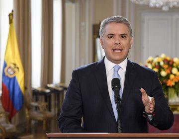 Colombia no acepta amenazas, dice Iván Duque y anuncia medidas contra exmiembros de las FARC