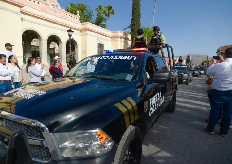 Anuncian inversión en seguridad para los municipios de Coahuila