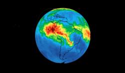 La NASA revela la cantidad de monóxido de carbono que…