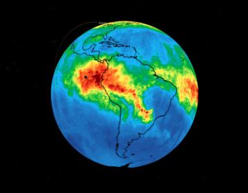 La NASA revela la cantidad de monóxido de carbono que genera el incendio en la Amazonia