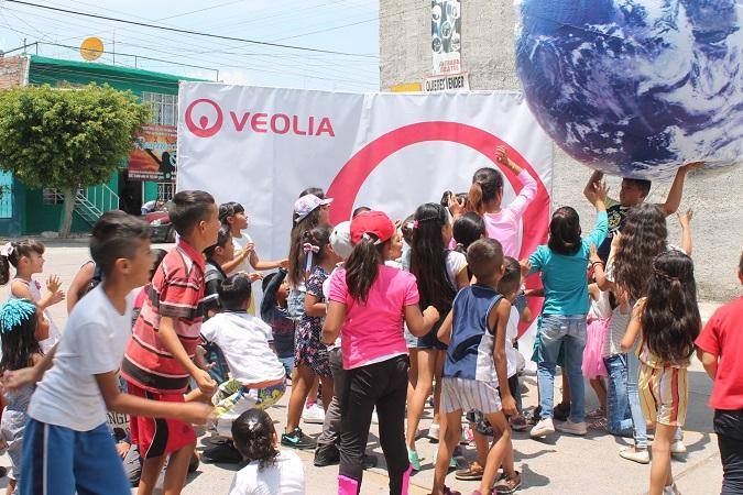 Impulsa Veolia acciones para fotalecer la cultura del agua