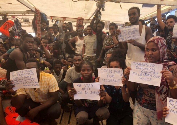 open-arms-migrantes-refugiados-españa-mediterraneo