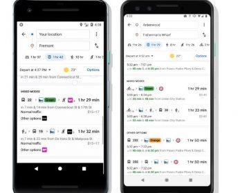 Google Maps tendrá nuevas opciones de ruta para bicicleta y viajes compartidos