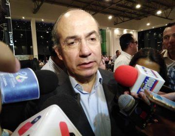 Critica Felipe Calderón el aumento a la inseguridad en el país.