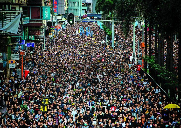 Marchas en Hong Kong: un momento decisivo