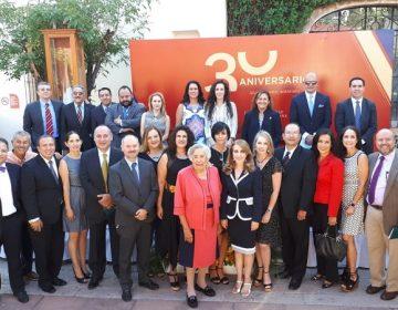 Emotiva celebración de 30 aniversario de la Universidad Panamericana en Aguascalientes