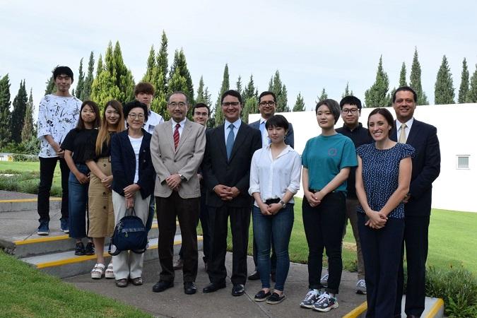 Fortalece Universidad Panamericana experiencias de intercambio académico con Japón