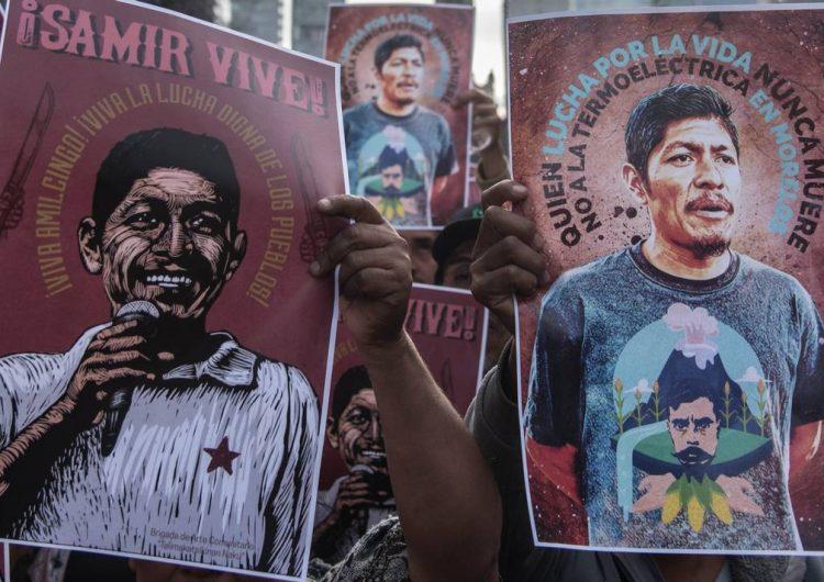 Samir Flores se ha convertido en el nuevo símbolo del EZLN