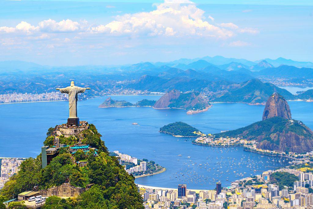 Una vista de Rio de Janeiro