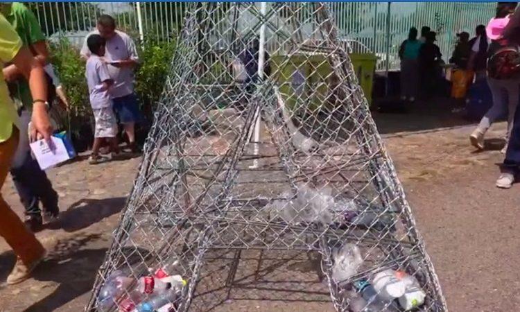 Instalan depósitos para envases de PET en el municipio capital