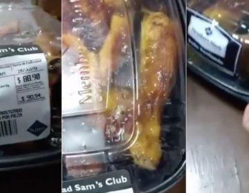 VIDEO | Encuentran gusanos en pollo de Sam's Club Guanajuato