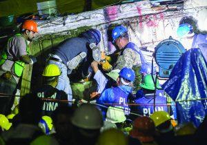 ¿Cómo localizar personas atrapadas después de un sismo?