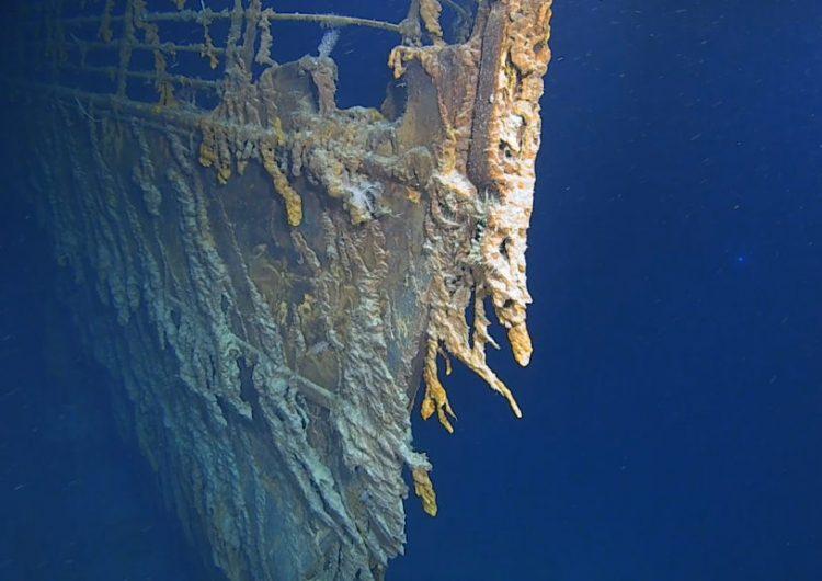 La corrosión salina y bacterias devoran los restos del Titanic
