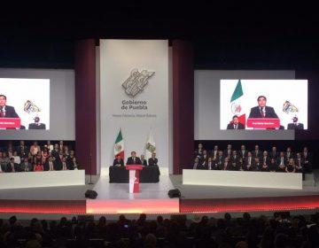 La Cuarta Transformación llegó a Puebla; Miguel Barbosa gobernador