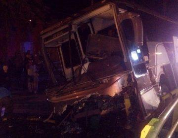Se accidenta autobús con peregrinos de Durango en Jesús María