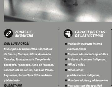 Detectan zonas de enganche para Trata de Personas en Aguascalientes y la región