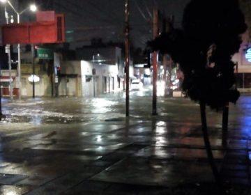Atendieron cuerpos de emergencia estatales más de 100 reportes por lluvias