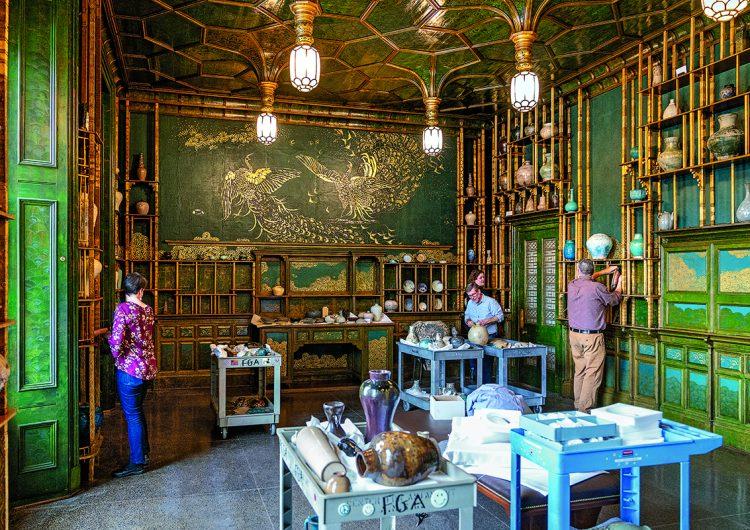 """""""La habitación del pavo real"""", de James McNeill Whistler, vuelve a exhibirse al público"""