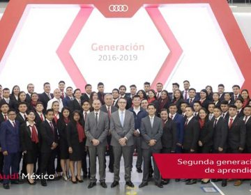 77 graduados en la segunda generación de aprendices en Audi