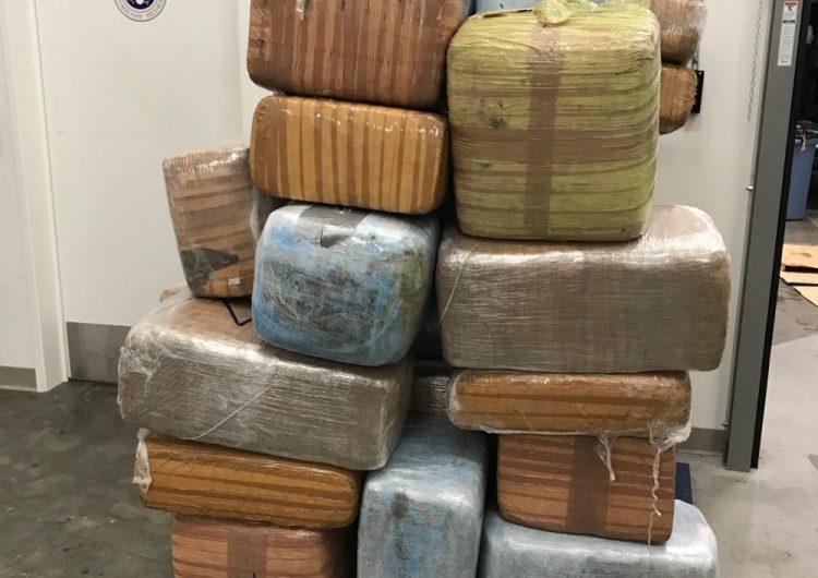 Guardia Costera de EU descubre 590 kilos de marihuana flotando en la costa de California