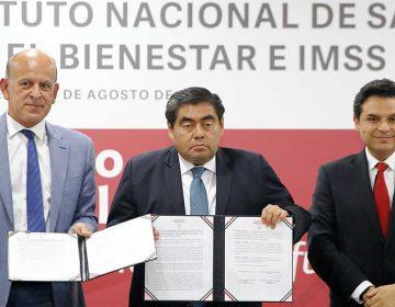 Miguel Barbosa y Zoé Robledo anuncian acciones en materia de Salud