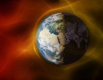 El campo magnético de la Tierra tardó 22,000 años en hacer una inversión completa