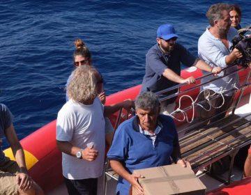 El barco de rescate Mare Jonio pide de forma urgente un puerto de desembarco ante la falta de agua