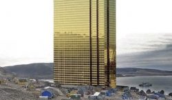 """Trump comparte imagen editada de una enorme """"Torre Trump"""" en…"""