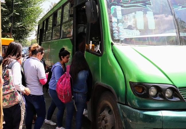 Amplían rutas y horario de transporte público a universidades
