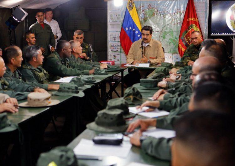 Aumenta tensión entre Venezuela y Colombia: Maduro despliega 150,000 militares en ejercicios en la frontera