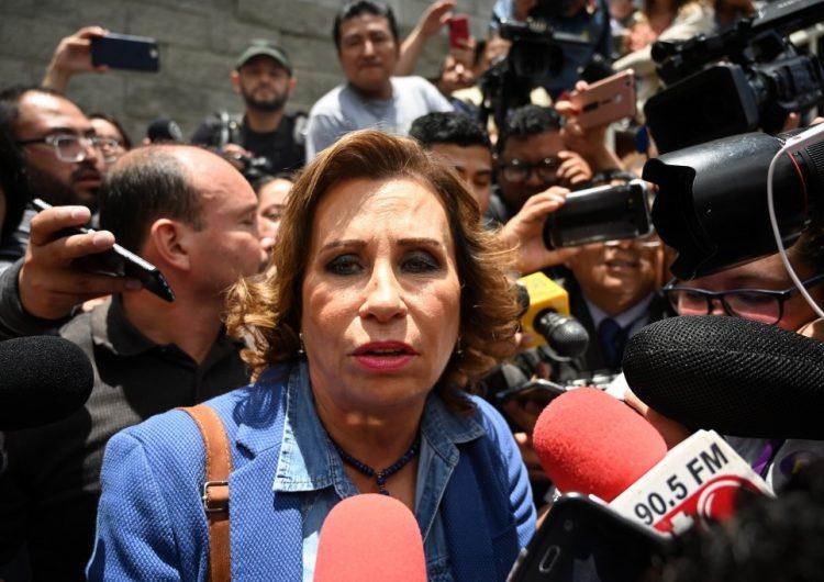 Detienen ex candidata presidencial de Guatemala por caso de corrupción
