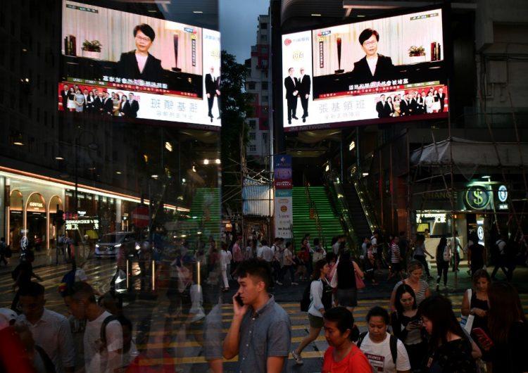 La líder de Hong Kong retira proyecto de ley sobre extradiciones a China que desató protestas