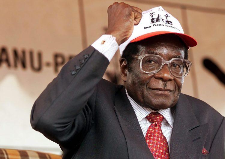 Robert Mugabe-Zimbabue-África