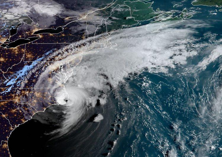 Cazadores de tormentas revelan imágenes del ojo del huracán Dorian