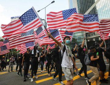 Manifestantes de Hong Kong piden a Trump que haga presión sobre el gobierno de China