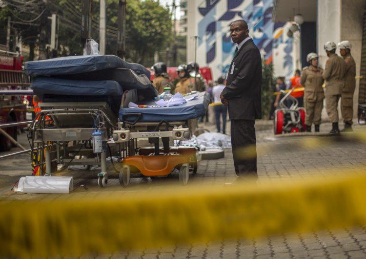 Al menos 11 muertos en incendio en un hospital de Río de Janeiro
