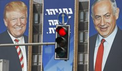 A días de las elecciones en Israel, Trump anuncia avances…