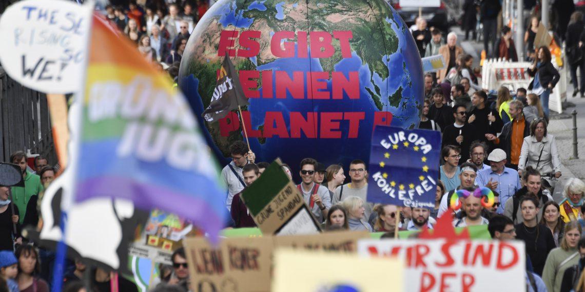 crisis climática-Alemania-cambio climático-protestas