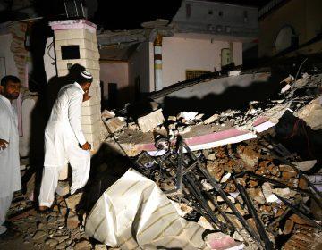 26 muertos y 300 heridos por terremoto en Pakistán