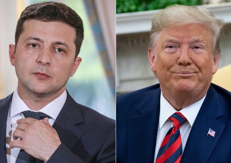 Trump autoriza publicar el contenido de su conversación telefónica con el presidente de Ucrania