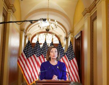 Nancy Pelosi, presidenta de la Cámara de Representantes, anuncia investigación para destituir a Donald Trump