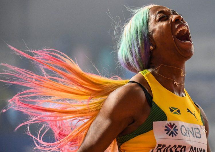 Shelly Ann, la atleta que volvió a la pista tras su maternidad y se coronó como la más veloz del mundo