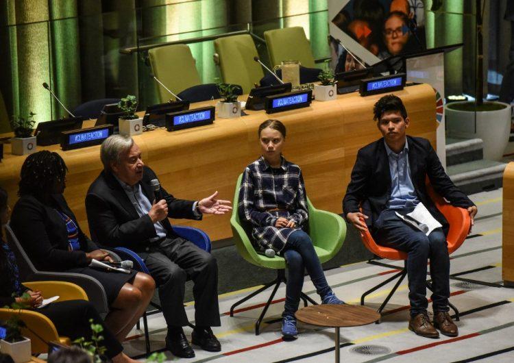 """""""Somos imparables"""": jóvenes advierten que no se detendrán hasta que gobiernos luchen contra el calentamiento global"""