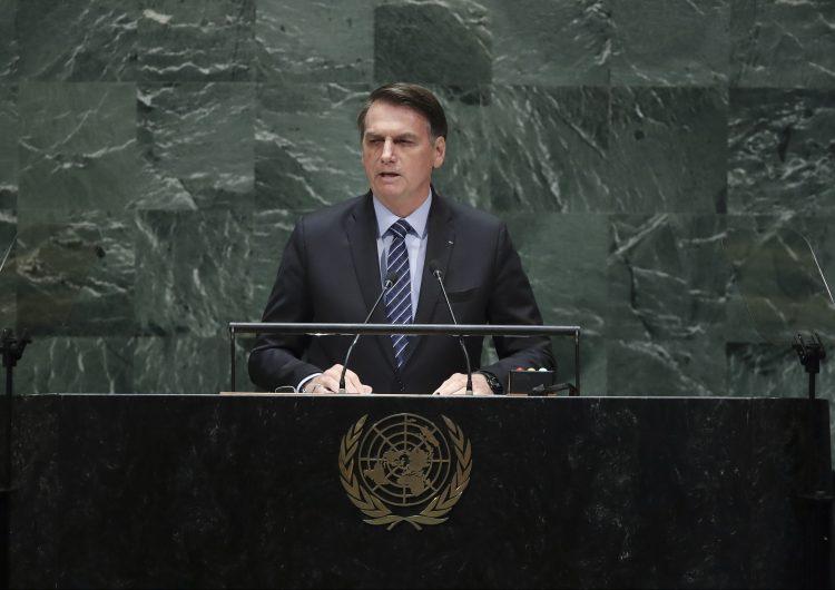 """Bolsonaro niega en la ONU que la Amazonia sea """"un patrimonio de la humanidad"""""""