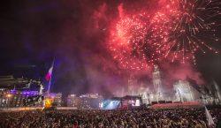 En fotos: Pirotecnia, banderas y gritos, así se festejó la…