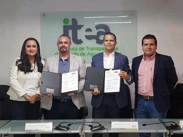 Firma ITEA convenio con Universidad Cuauhtémoc para impulsar cultura de la transparencia