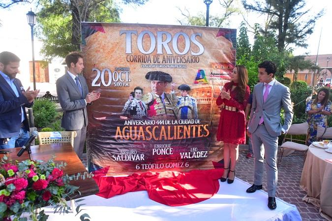 Anuncian festival taurino por el aniversario de la Ciudad de Aguascalientes